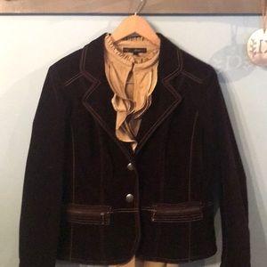 Gorgeous Chicos velvet blazer
